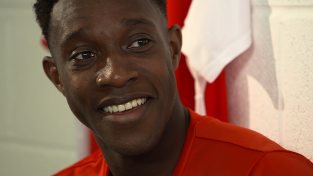 Danny Welbeck chats to Martin Keown on Football Focus