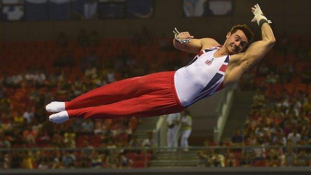 Kristian Thomas wins Euro Gymnastics gold