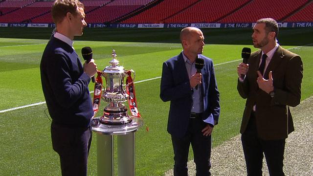 Dan Walker, Danny Murphy and Martin Keown