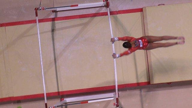 Becky Downie wins European Gymnastics silver on high bars