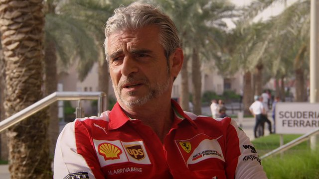 Ferrari team principal Maurizio Arrivabene