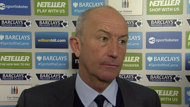 Crystal Palace 0-2 West Brom: Tony Pulis says forty points still the target