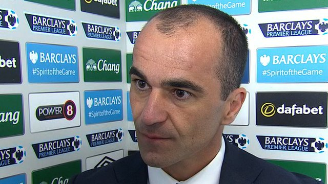 Martinez thoughts after 1-0 win over Burnley