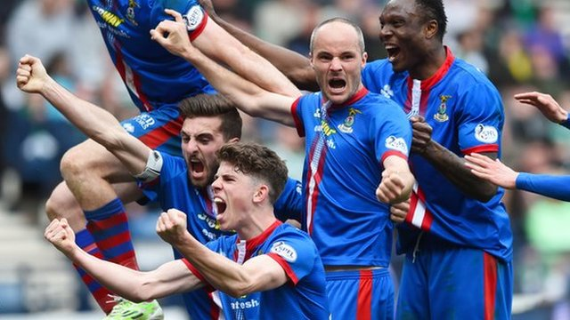 Highlights - Inverness CT 3-2 Celtic