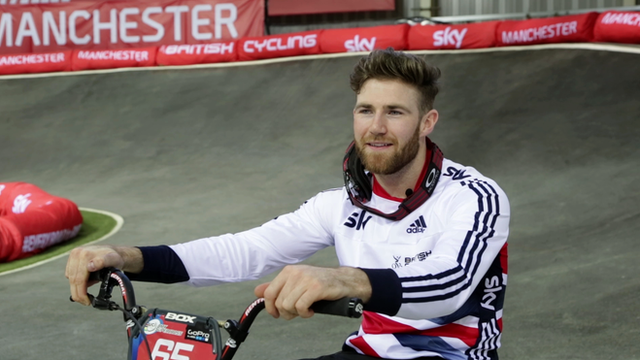 BMX Supercross World Cup series: Liam Phillips delight at 'mind-blowing' win