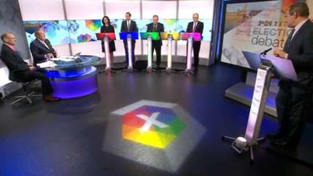 Daily Politics Election Debate panel