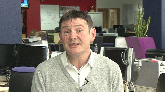 Richard Carter, leader of Yorkshire First