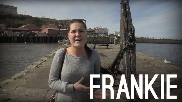 Frankie Leach BBC InMyUK #InMyShoes