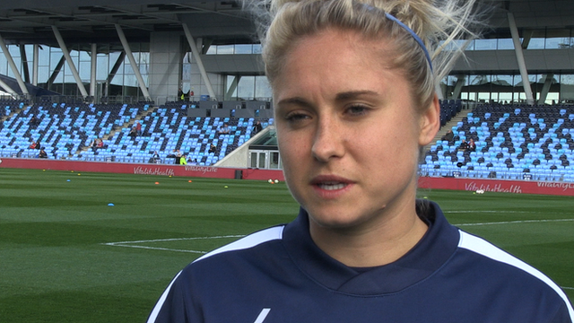 Women's World Cup: Steph Houghton 'progressing really well'
