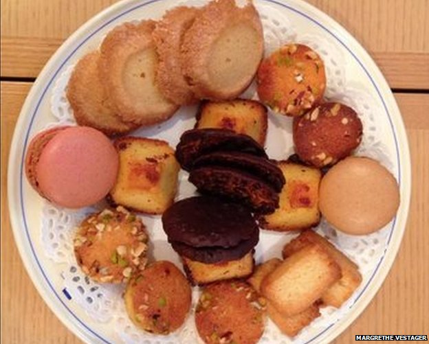 Twitter image of pastries