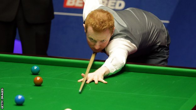BBC Sport - Ronnie O'Sullivan tips Anthony McGill to be future world champion