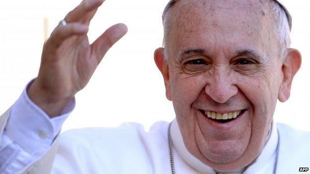 Pope Francis. Photo: 22 April 2015