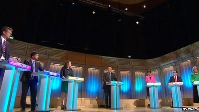 Debate in full flow