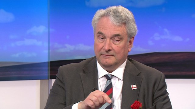 The Chairman of the English Democrats Robin Tilbrook