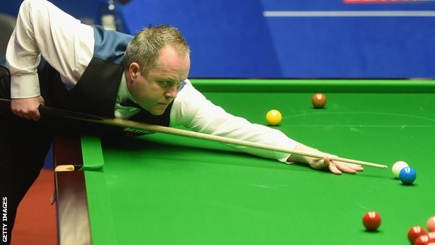 BBC Sport - World Snooker Championship: Higgins advantage cut by Ding