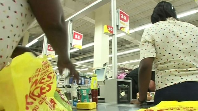 South African supermarket