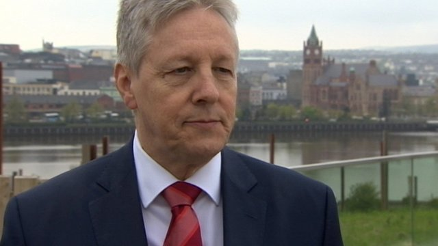 DUP leader Peter Robinson said Mr Wells comments were not those of the Democratic Unionist Party