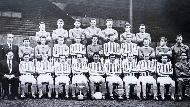 Kilmarnock's 1964/65 squad