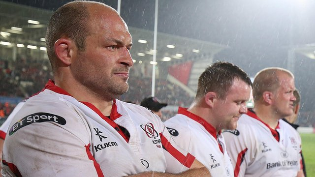 "Rory Best (left) said he was ""immensely proud"" of Ulster's performance"