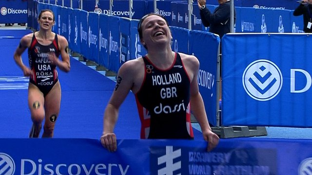 Great Britain's Vicky Holland
