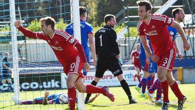 Highlights - Inverness CT 1-2 Aberdeen