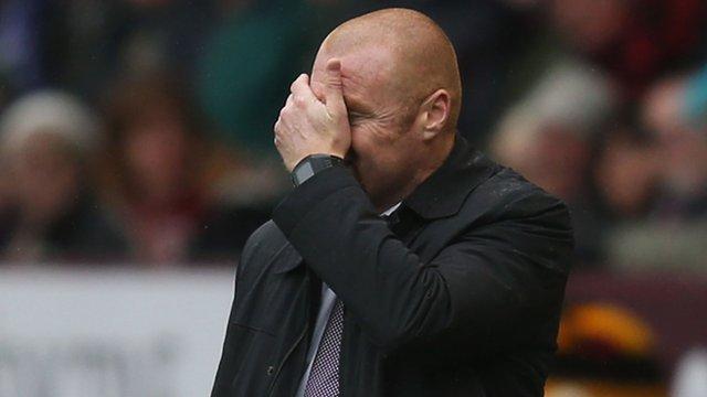 Premier League: Burnley 0-1 Leicester - Football can be a cruel game - Dyche