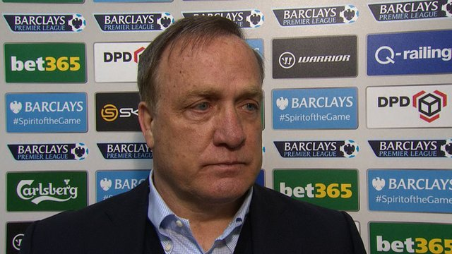 Stoke 1-1 Sunderland : Dick Advocaat says he can live with draw