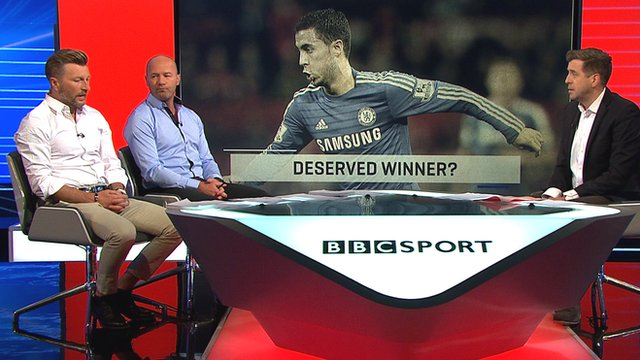 Robbie Savage, Alan Shearer and Mark Chapman on MOTD3