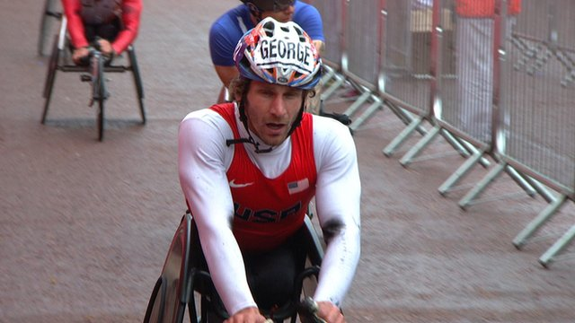 London Marathon 2015: Joshua George pips David Weir
