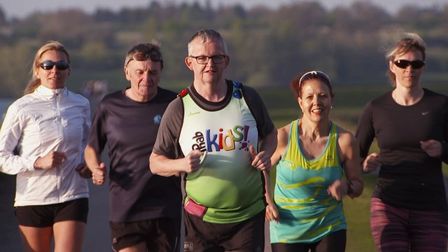London Marathon: Guy Watt's inspirational marathon story