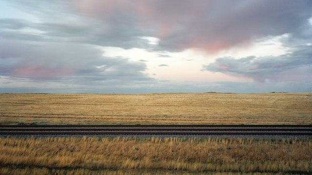 Picture of railroad tracks
