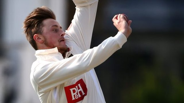 Sussex fast bowler Ollie Robinson