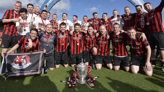 Irish Premiership champions Crusaders