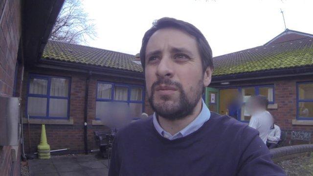 Jim Reed at the Chapman Barker unit