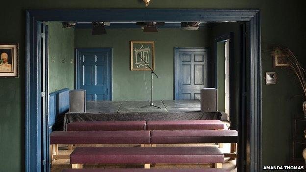 Existing Wardrobe Theatre