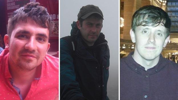 Darren Russell, Daniel Hughes a Jason Russell
