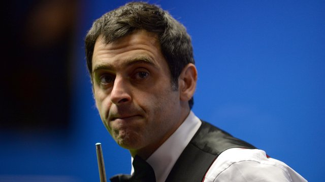 World Snooker Championship: Ronnie O'Sullivan 'not excited' despite win