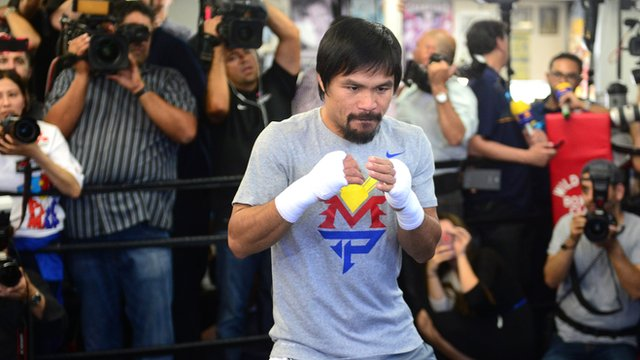 Prices are rising in Las Vegas ahead of Mayweather v Pacquiao