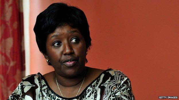Rwanda Minister of Health Dr Agnes Binagwaho