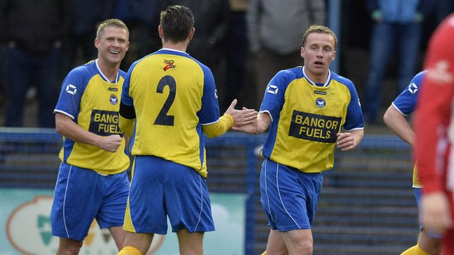 Bangor finished second in Championship One