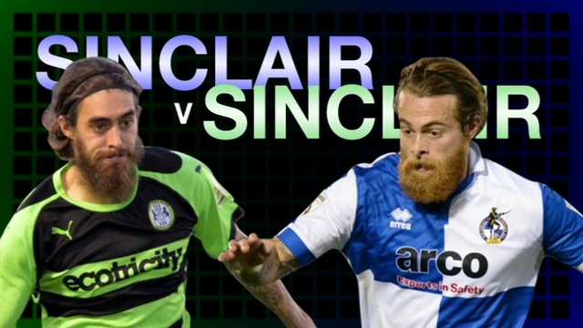 Rob Sinclair and Stuart Sinclair