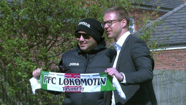 Davron Azizov and Gretar Steinsson