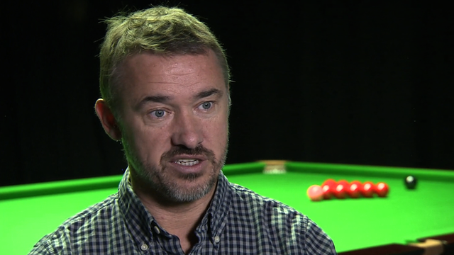 Seven-time world snooker champion Stephen Hendry