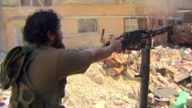 Fighting in Libya