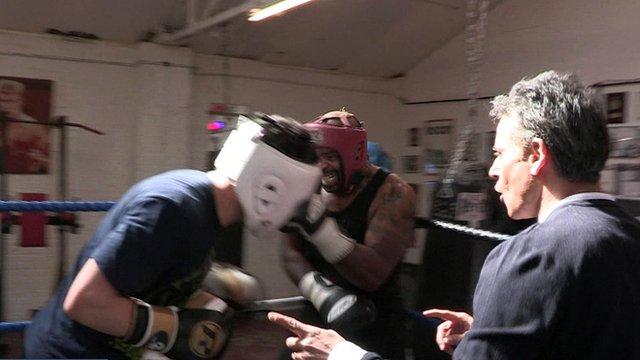 Boxers with Matthew Amroliwala