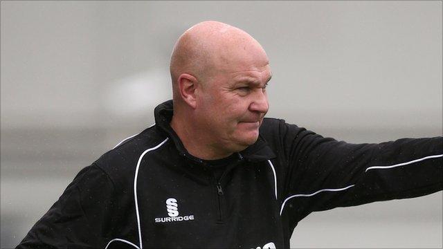 Eastleigh boss Richard Hill.