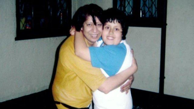 Satish Appleby and her son Shaun