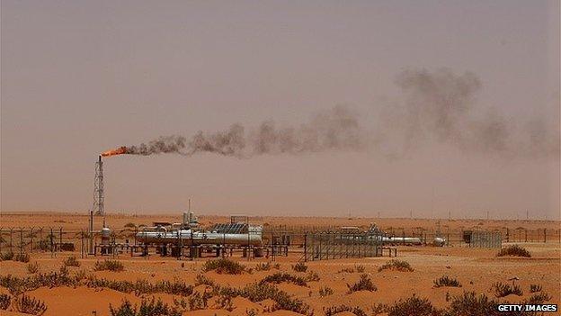 Saudi Aramco field