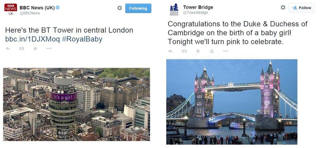BT Tower / Tower Bridge