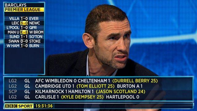 BBC Sport's Martin Keown